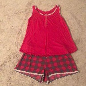Xhilaration 2-Piece Pajama Set Size M